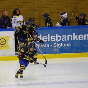 Team 07 var med på isen när Wings mötte Sollentuna 18/9-2016