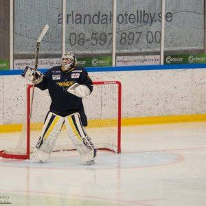 Säsongens första träningsmatch mot VIK Västerås