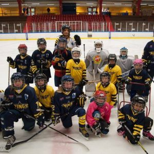 World Girls' Ice Hockey i Pinbackshallen